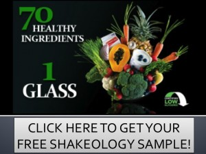Shakeology page - free sample button picture